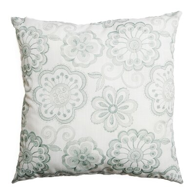 Estero Throw Pillow Color: Spa