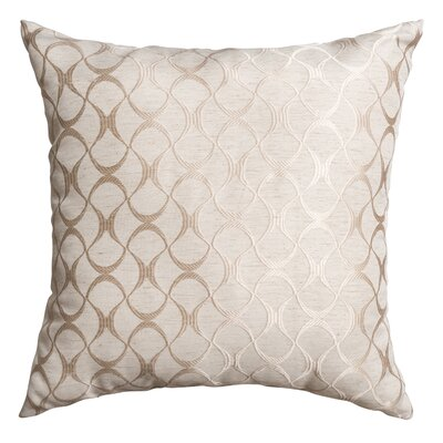 Hechi Throw Pillow Color: Natural