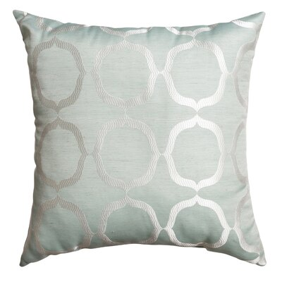 Lapeer Decorative Throw Pillow Color: Spa
