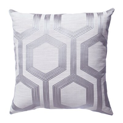 Tokat Throw Pillow Color: Platinum