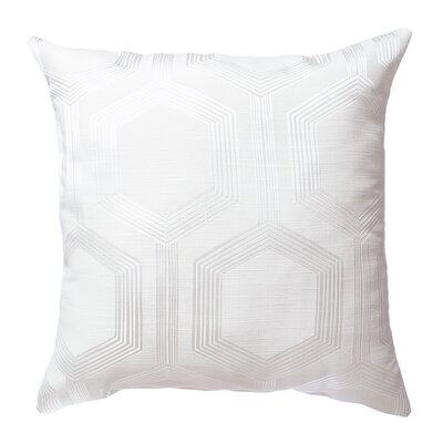 Tokat Throw Pillow Color: White
