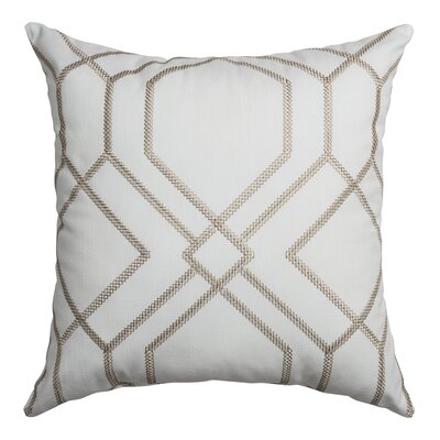 Thorne Throw Pillow Color: Champagne
