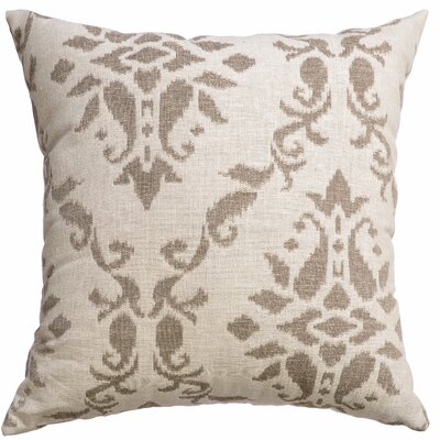 Delmas Decorative Throw Pillow Color: Java