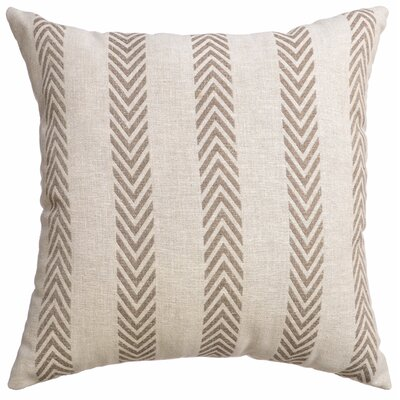 Chalco Decorative Throw Pillow Color: Java