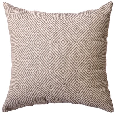 Delanco Decorative Throw Pillow Color: Java