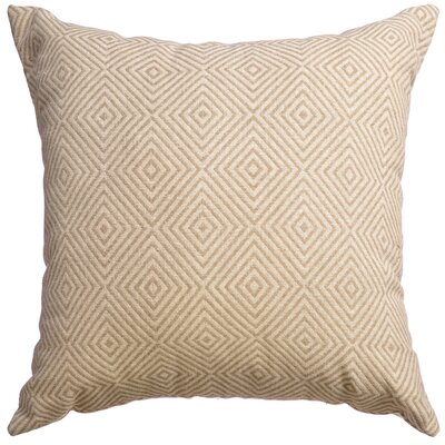 Delanco Decorative Throw Pillow Color: Natural