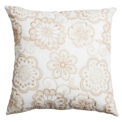 Estero Throw Pillow Color: Champagne