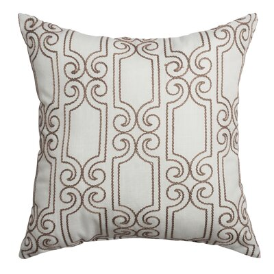 Bexley Throw Pillow Color: Natural Latte