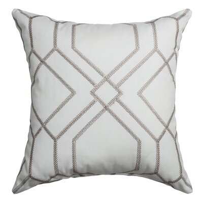 Sierra Decorative Throw Pillow Color: Silver