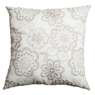 Estero Throw Pillow Color: Oatmeal