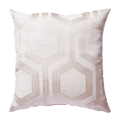 Tokat Throw Pillow Color: Champagne