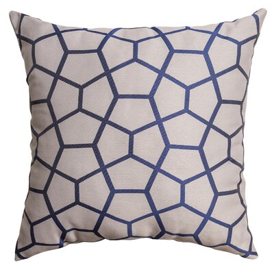 Dimas Throw Pillow Color: Sapphire Blue