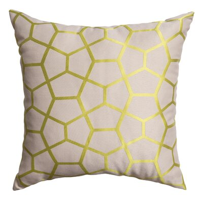 Dimas Throw Pillow Color: Green