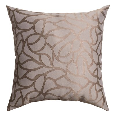 Basra Throw Pillow Color: Steel