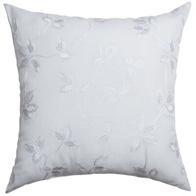 Adelle Throw Pillow Color: White