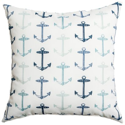 Sunline Anchors Decorative Indoor/Outdoor Throw Pillow