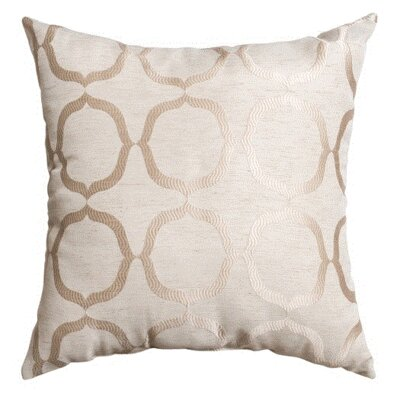 Lapeer Decorative Throw Pillow Color: Natural