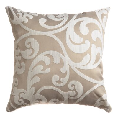 Karaj Throw Pillow Color: Beige