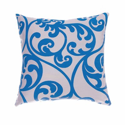 Karaj Throw Pillow Color: Cobalt