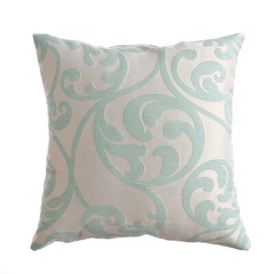 Karaj Throw Pillow Color: Seafoam