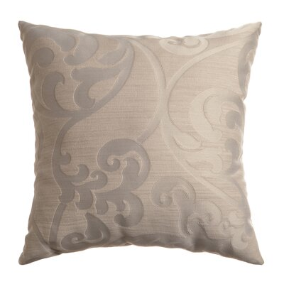 Karaj Throw Pillow Color: Stone