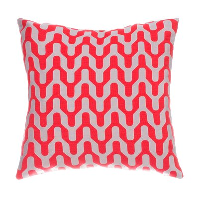 Victor Throw Pillow Color: Cardinal Red