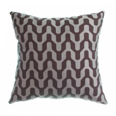Victor Throw Pillow Color: Chocolate