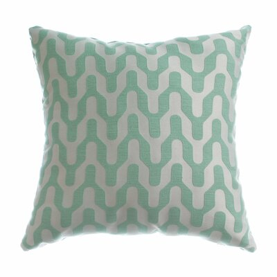 Victor Throw Pillow Color: Seafoam