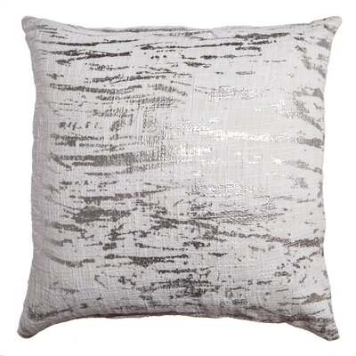 Dasia Decorative Throw Pillow Color: Silver