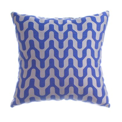 Arellano Decorative Throw Pillow Color: Cobalt
