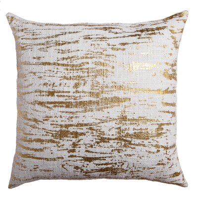 Dasia Decorative Throw Pillow Color: Gold