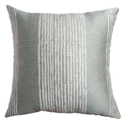 Longview Stripe Decorative Throw Pillow Color: Spa