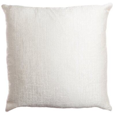 Longview Texture Decorative Throw Pillow Color: White