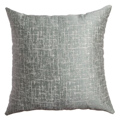 Longview Texture Decorative Throw Pillow Color: Spa