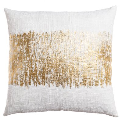 Lincoln Decorative Throw Pillow Color: Gold