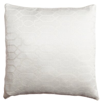 Longview Decorative Throw Pillow Color: White