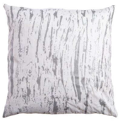 Darcia Decorative Throw Pillow Color: Silver