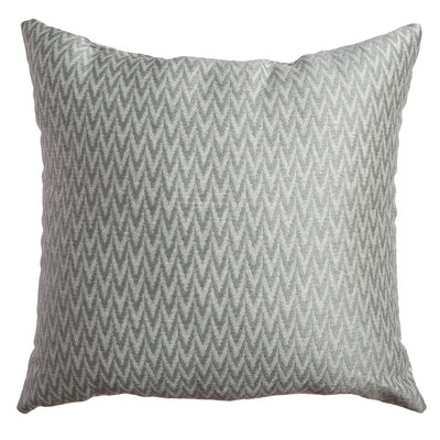 Longview Chevron Decorative Throw Pillow Color: Spa