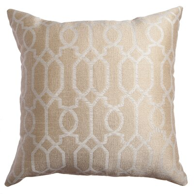 Longview Decorative Throw Pillow Color: Champagne