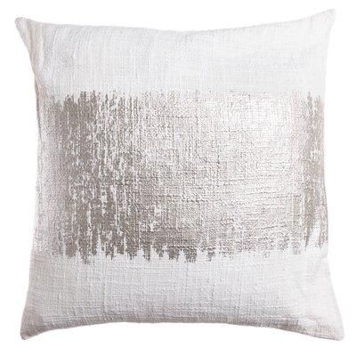 Lincoln Decorative Throw Pillow Color: Silver