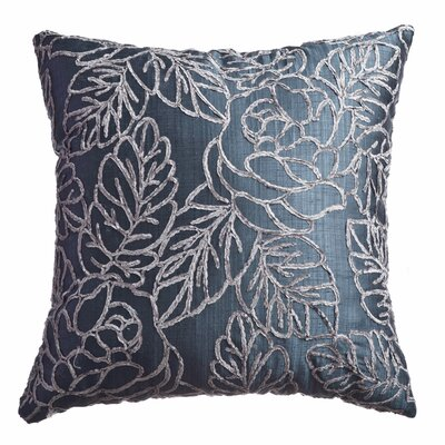 Callahan Decorative Throw Pillow Color: Indigo