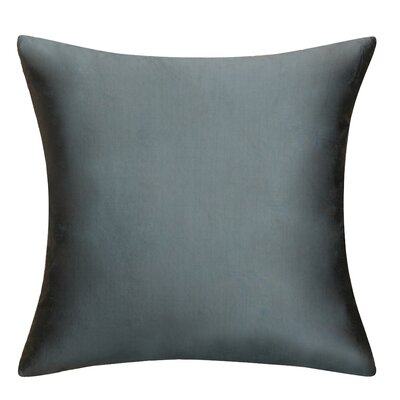 Sonny Decorative Square Silk Throw Pillow Color: Royal Blue