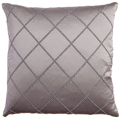 Parramore Decorative Throw Pillow Color: Gunmetal