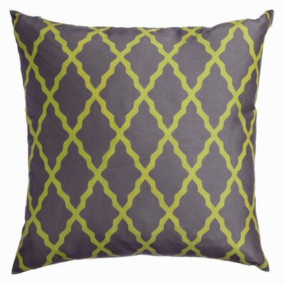 Sheppard Decorative Throw Pillow Color: Chartreuse