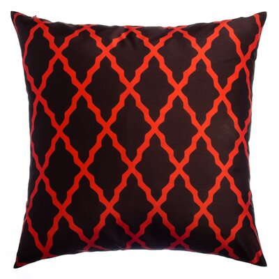 Sheppard Decorative Throw Pillow Color: Cayenne