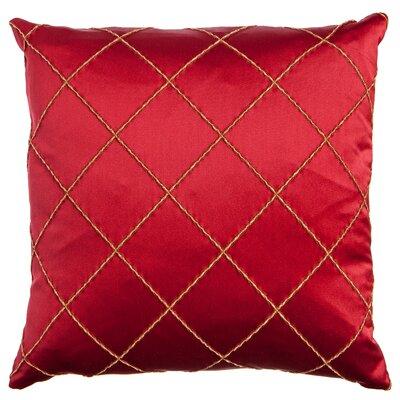 Parramore Decorative Throw Pillow Color: Merlot