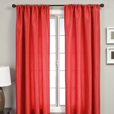 Softline Home Fashions Bella Kids Rod Pocket Curtain Panel - Size: 108