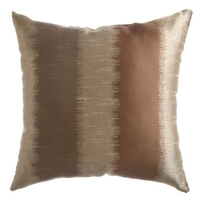 Dream Throw Pillow Color: Champagne / Mocha