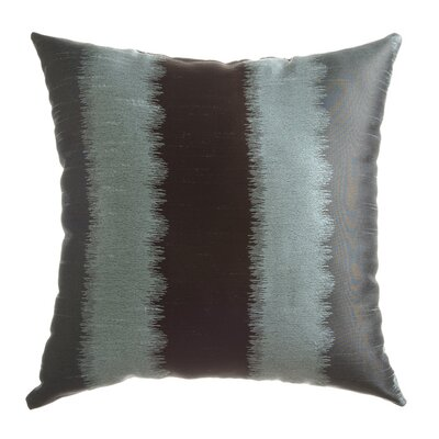 Dream Throw Pillow Color: Ice Blue / Chocolate