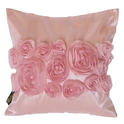 Debage Inc. Spring Flower Throw Pillow - Color: Pink